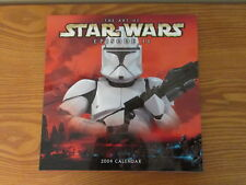 Vintage Star Wars 2004 Calendar The Art of Episode II The Attack of the Clones