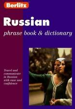 Berlitz Russian Phrase Book & Dictionary (Berlitz Phrase Book)-ExLibrary