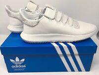 Adidas Men's Tubular Shadow Knit Originals Running Shoe B8821 Crystal White NEW