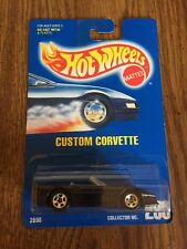 custom corvette hot wheels 1991 1/64