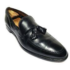 Allen Edmonds Grayson Tassel Loafer Slip On Dress Shoes Black Men Size 12