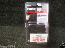"PACK OF 12 TREND CHISEL EDGE GUARDS FTS/CEG  6 SIZES 1/4"" TO 11/2"""