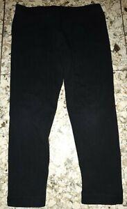 GIRL Sz 3 black TARGET stretchy leggings / pants COMFY!