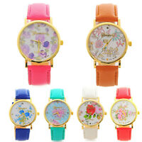 Dress Watch Womens Watch Faux Leather Watch Quartz Analogue Wrist Watches Vogue