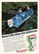 1978 Johnson 150 Fish Boat Motor - Original Advertisement Print Ad J277
