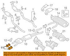 VW VOLKSWAGEN OEM 11-17 Touareg 3.6L-V6 Exhaust-Front Muffler Clamp 1K0253141S