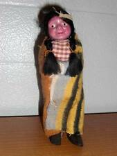"""Vintage 7"""" Native American Indian Doll 1950's"""