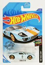 Hot Wheels Ford GT40 Gulf Blue Race Day 8/10 #35/250