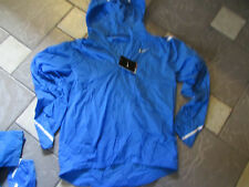 NEW NIKE STAY DRY RUNNING JACKET MENS M LIGHTWEIGHT WATER REPEL BLUE $110