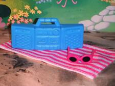 Fisher Price Loving Family Dream Dollhouse Pink Beach Blanket Barbie Accessories
