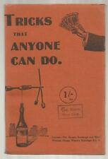 Tricks That Anyone Can Do by Morley Adams