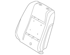 Genuine Ford Seat Back Pad AR3Z-6364810-B