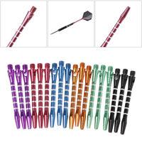 6 Sets/18 Pcs 53mm Aluminum Dart Shafts 6 Color 2BA Thread Size Medium Length