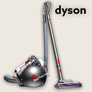 Dyson - Cinetic Big Ball Animal Canister Vacuum - Silver - FACTORY REFURBISHED!