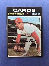 1971 TOPPS BASEBALL CARD #55 STEVE CARLTON CARDS NM/MT
