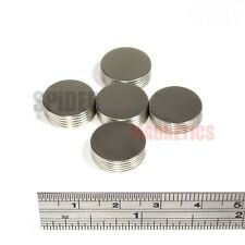 25 Strong Magnets 15x1 mm Neodymium Disc thin rare earth magnet 15mm dia x 1mm