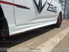 Side skirts (side lips) Hyundai Accent/ Solaris /Verna 2010-2017 ABS [unpainted]