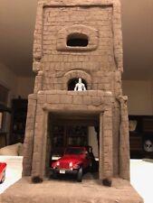 tower play set Diorama G.I.Joe 3 3/4 1/18 scale castle drednoks cobra playset