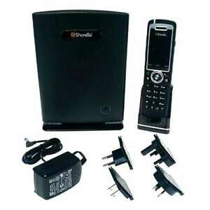 New ShoreTel IP930D 930D Starter Kit Complete Wireless 930D Wifi Phone with Base