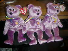 1/4 DOZEN RETIRED TY BEANIES*DREAMER the CLUB BEAR**B-DAY MARCH, 2003**MWMT@@