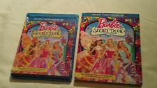 Barbie and the Secret Door (Blu-ray/DVD/Digital HD, 2014) NEW w/ Glitter Slip