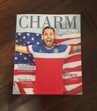 Clint Dempsey USA Soccer CHARM Magazine March 2018 V 10 Issue 3