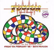 FUSION Rave Flyer Flyers 6/2/98 A4 Bath Pavillion
