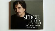 SERGE LAMA - OU SONT PASSES NOS REVES - CD -