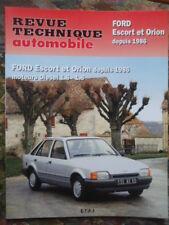 REVUE TECHNIQUE FORD ESCORT & ORION DEPUIS 1986 MOTEURS DIESEL