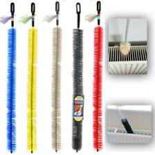 Long Handle Easy Reach Radiator Cleaning Bristle Brush Dust Duster Cleaner 70CM