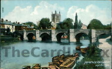 HEREFORD Wye Bridge Postcard HEREFORDSHIRE Frith and Co