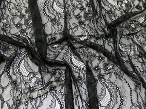 Chantilly Lace Fabric - Sold Per Metre