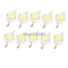 10PCS 1w High Power LED Chip SMD Beads Cool White 1Watt