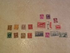 STAMP WASHINGTON 2 Cent1870 1916 1942 1910 Grant 1894 Garfield 1922 Harding 1930