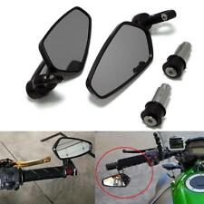 BLACK MOTORCYCLE HANDLE BAR END MIRRORS FOR YAMAHA FZR600 YZF 600 R1 R6 R6S
