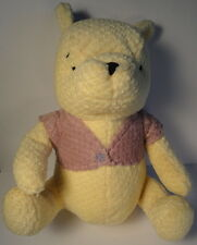 Classic Winnie the Pooh Teddy Bear Walt Disney Large Stuffed Chenille Pastel