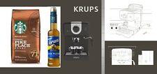 KRUPS XP3208 15-BAR Espresso and Cappuccino Coffee Maker Black open box