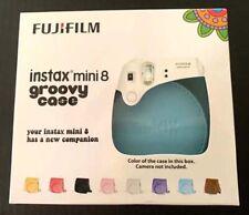 FujiFilm Instax Mini 8 Groovy Case - Blue - NEW