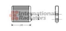 Wärmetauscher Innenraumheizung - van Wezel 37006321