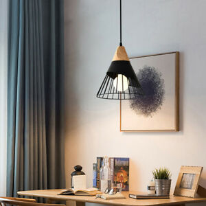 Wood Modern Ceilng Lights Kitchen Pendant Light Home Pendant Lighting Bar Lamp