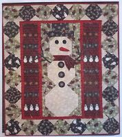 Mittens quilt pattern Kreative Threads KRT137 winter snowman 38x48