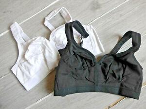 Petite Fleur Damen BH weiß und schwarz Doppelpack Gr. 90 C  (502) NEU