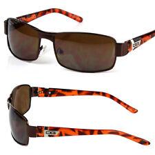 New DG Mens Sunglasses Shades Wrap Designer Retro Fashion Vintage Camo Metal 80s