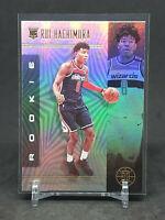 2019-20 Illusions Rui Hachimura RC, Rookie Card Holo, Washington Wizards