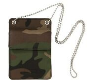 Supreme Leather ID Holder + Wallet Woodland Camo FW18 Ready to Ship