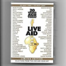 Live Aid - 20 Years Ago Today (SINGLE DISC LIMITED EDITION DVD 2005) Queen / U2