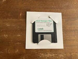 """Ontrack Disk Manager Mac Version 2.30 3.5"""" Floppy Disk"""