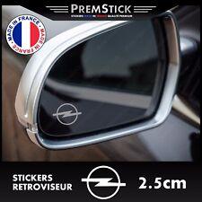 Kit 3 Stickers Retroviseur Voiture Opel - Autocollant auto, retro ref2