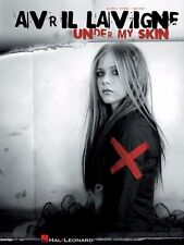 AVRIL LAVIGNE - Under My Skin Piano Vocal Guitar Book *NEW* Music Songs