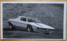 FERRARI ARCOBALENO by BERTONE ORIGINALE FACTORY STAMPA FOTO 1976-N. opuscolo